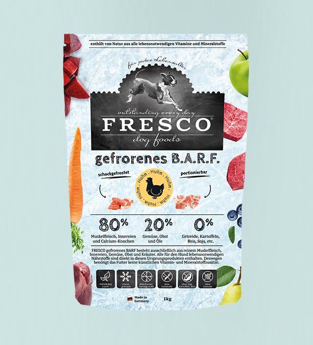 fresco entwickelt und produziert hochwertiges b a r f basiertes hundefutter und snacks aus reinem fleisch ohne jegliche kunstliche zusatze